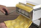 utilisation machine à pâtes